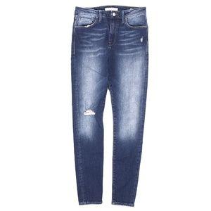 Mavi Lucy Jeans Super Skinny High Rise Distressed